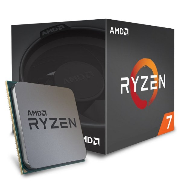 Processador AMD Ryzen 7 2700 c/ Wraith Spire Cooler, Octa Core, Cache 20MB, 3.2GHz (Max Turbo 4.1GHz) AM4 - YD2700BBAFBOX