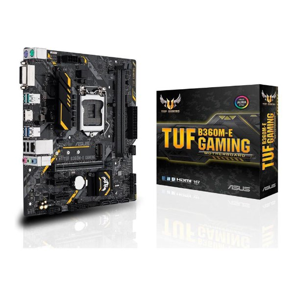 Placa Mãe ASUS TUF CHIPSET INTEL B360M-E GAMING Socket LGA 1151
