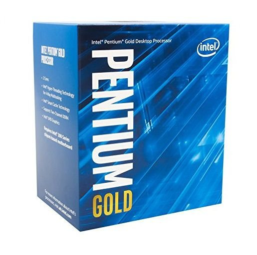 Processador Intel Pentium Dual Core G5400 GOLD Coffee Lake 3.7 Ghz C/ 4Mb Cache Socket LGA 1151 - BX80684G5400