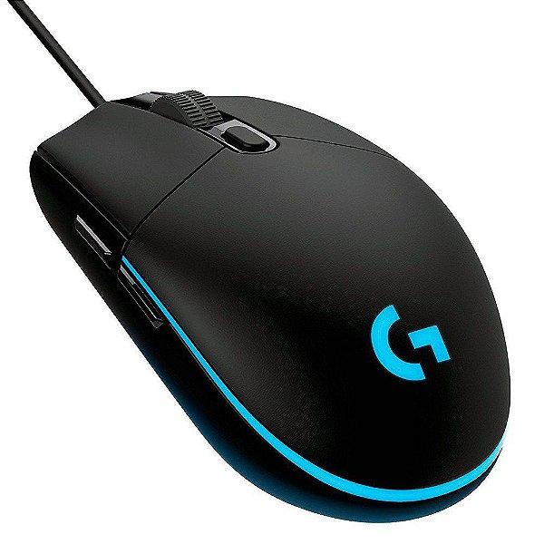 (Liquidação) Mouse Gamer Logitech G203 Prodigy 8000 DPI