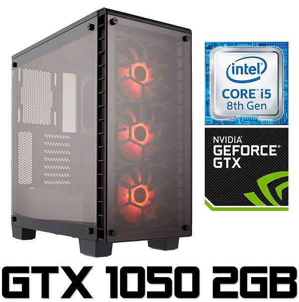 PC Gamer Intel Core I5 Coffee Lake 8400, 8GB DDR4, SSD 240GB, Geforce GTX 1050 OC 2GB