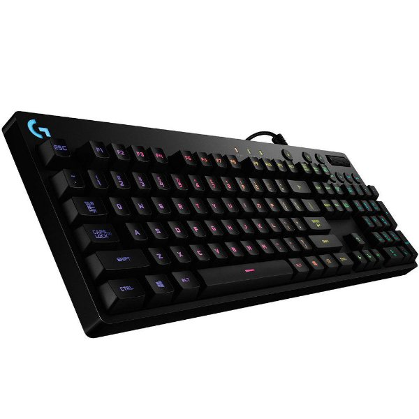 Teclado Gamer Logitech G810 Mecânico Orion Spectrum RGB, Switch Romer-G, US