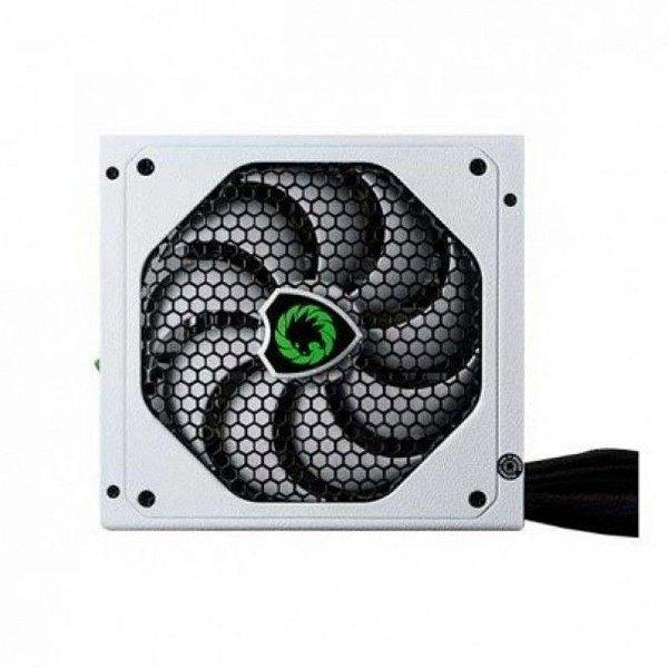 Fonte ATX 500 Watts Potência Real C/ PFC Ativo Bivolt Automático GAMEMAX GM500 White - 80% Plus Bronze