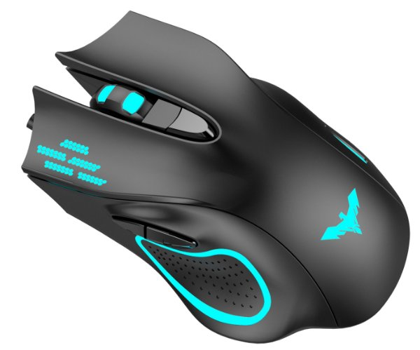 Mouse Gamer Com Fio USB 2400 Dpi HAVIT HV-MS731
