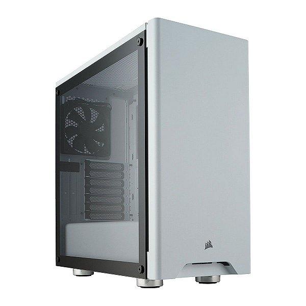 Gabinete ATX Gamer C/ Lateral em Vidro Temperado e USB 3.0 Frontal - Corsair Carbide 275R White CC-9011133-WW