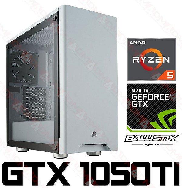 PC Gamer AMD Ryzen 5 2400G, 8GB DDR4, HD 1 Tera, GPU Geforce GTX 1050TI OC 4GB
