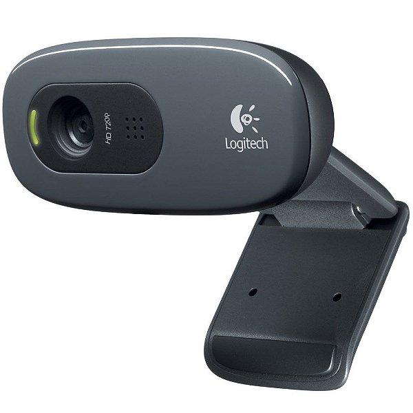 Webcam Logitech C270 HD 720p 3MP - 960-000694