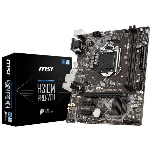 Placa Mãe MSI CHIPSET INTEL H310M PRO-VDH SOCKET LGA 1151