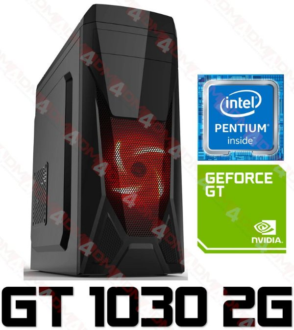 PC Gamer Intel Pentium Kaby Lake G4560, 8GB DDR4, HD 1 Tera, GPU GEFORCE GT 1030 2GB