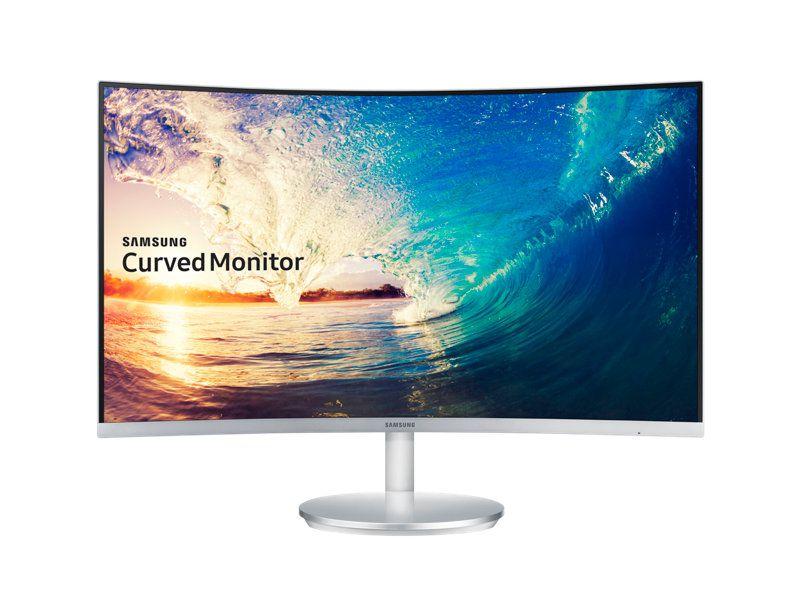 (Liquidação) Monitor LED 27 Polegadas CURVO FULL HD C/ Auto Falante VGA/HDMI/Display Port SAMSUNG LC27F591FDLXZD