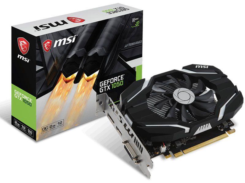 Placa de Vídeo GPU Geforce GTX 1050 OC 2GB DDR5 128 BITS MSI 912-V809-2287