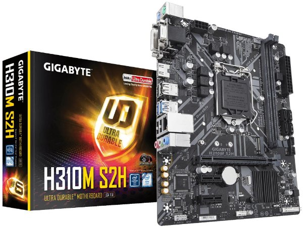 Placa Mãe GIGABYTE Chipset Intel H310M S2H SOCKET LGA 1151