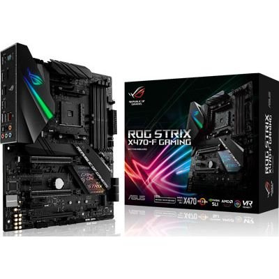 Placa Mãe ASUS ROG STRIX CHIPSET AMD X470-F GAMING SOCKET AM4