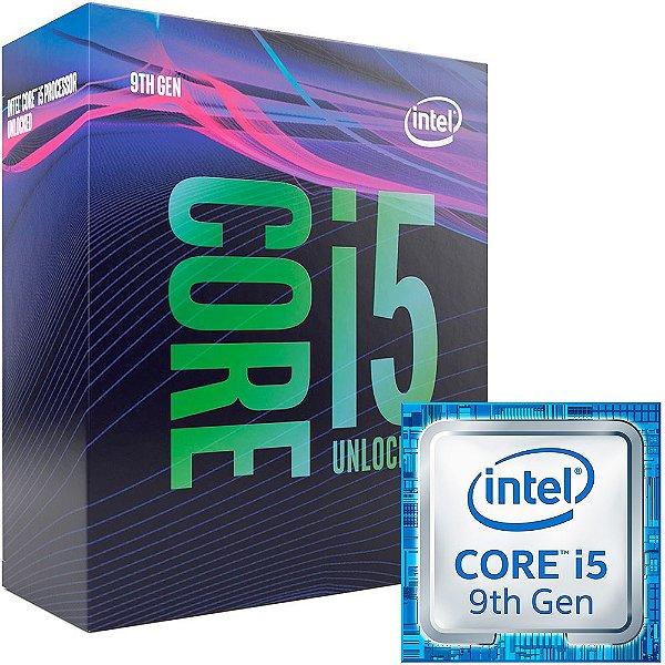 Processador Intel Core I5 Coffee Lake 9º Geração 9600K - 3.7 GHz C/ 9MB Cache (4.6 GHz Max Turbo) Socket LGA 1151 - BX80684I59600K