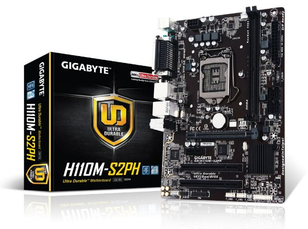 Placa Mãe GIGABYTE CHIPSET INTEL H110M-S2PH SOCKET LGA 1151
