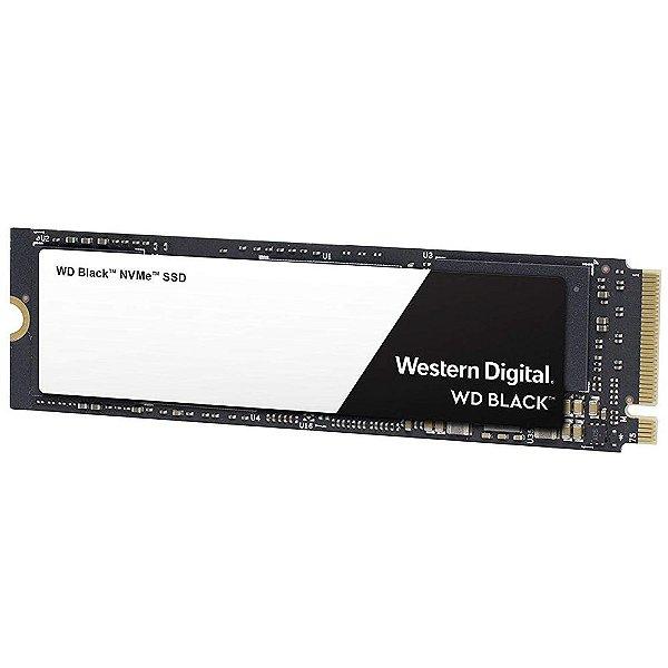 SSD Western Digital Black M.2 2280 500GB NVMe Leituras: 3400MB/s e Gravações: 2500/s - WDS500G2X0C