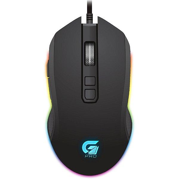 (Liquidação) Mouse Gamer Com Fio USB FORTREK M3 PRO RGB
