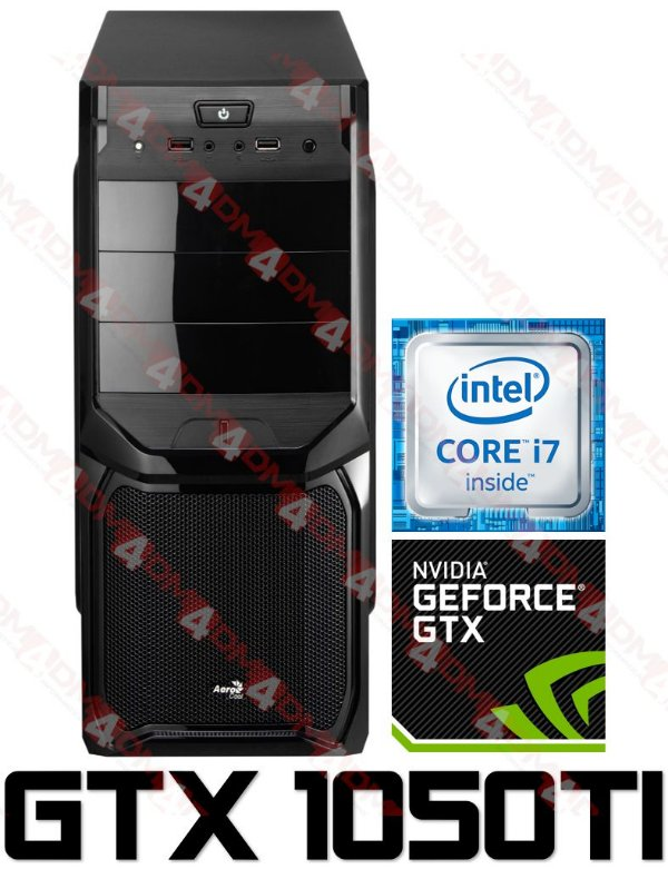 (Oferta) PC Gamer Intel Core I7 Ivy Bridge 3770, 8GB DDR3, HD 1 Tera, GPU GEFORCE GTX 1050TI 4GB