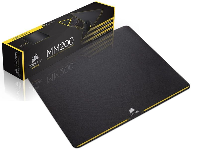 MOUSEPAD GAMER CORSAIR MM200 - CH-9000099-WW MEDIUM 36 X 30CM PRETO