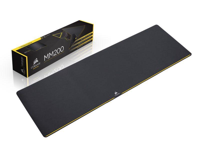 MOUSEPAD GAMER CORSAIR MM200 - CH-9000101-WW EXTENDED 93 X 30CM PRETO