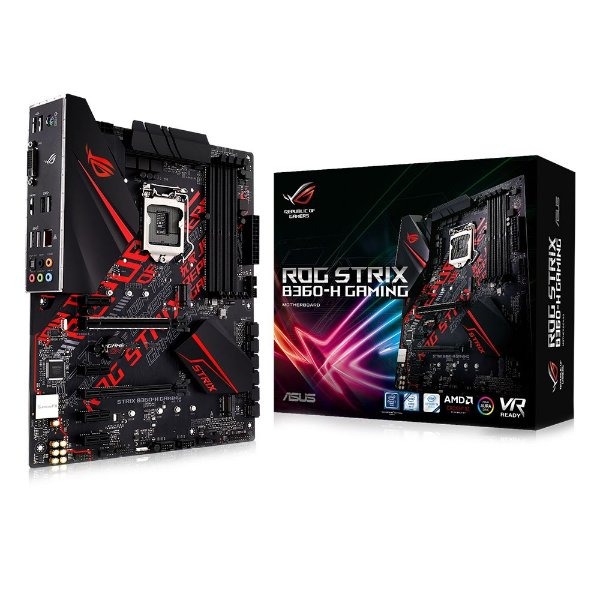 Placa Mãe ASUS ROG STRIX CHIPSET INTEL B360-H GAMING SOCKET LGA 1151