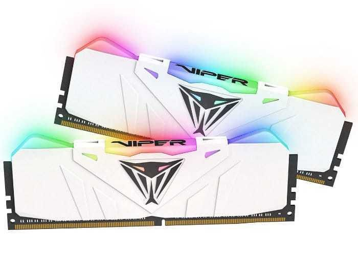 Memória 16GB DDR4 CL16 3200 Mhz PATRIOT VIPER GAMING RGB - PVR416G320C6KW (2X8GB)