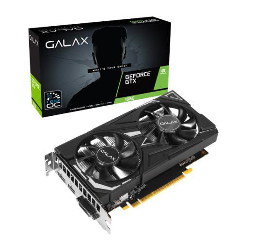 (OFERTA BLACK FRIDAY) Placa de Vídeo GPU Geforce GTX 1650 OC 1CLICK 4GB GDDR5 - 128 Bits GALAX 65SQH8DS08EX