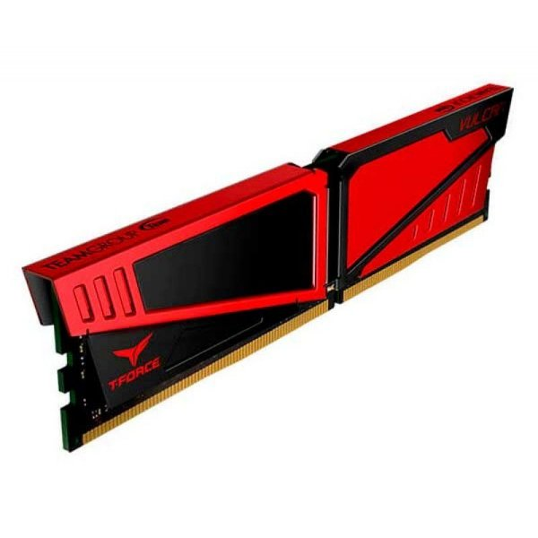 Memória 8GB DDR4 CL15 2666 MHZ  TEAM GROUP T-FORCE VULCAN RED - TLRED48G2666HC15B01 (1X8GB