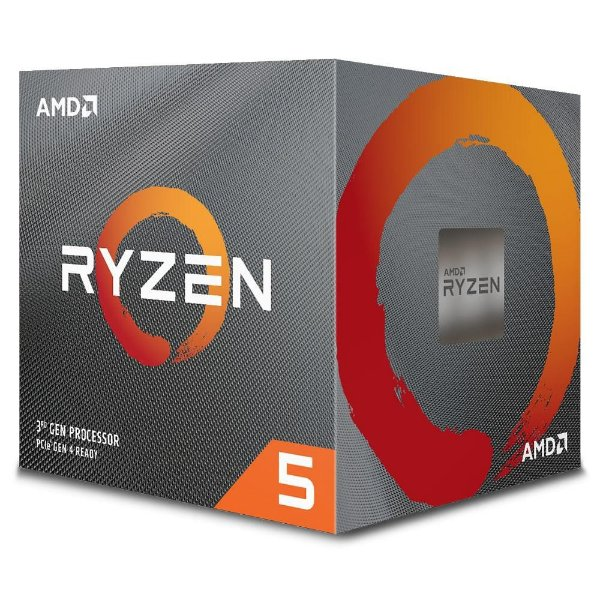 Processador AMD Ryzen 5 3600X - 3.8 GHZ (4.4 Ghz Max Turbo) 32MB Cache SIX CORE - 100-100000022BOX AM4