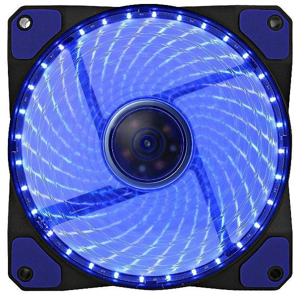 Cooler Fan Gamemax Galeforce 32 LED, 12cm, Azul - GF12B