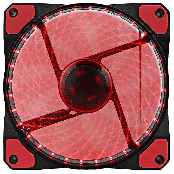 Cooler Fan Gamemax Galeforce 32 LED, 12cm, Vermelho - GF12R