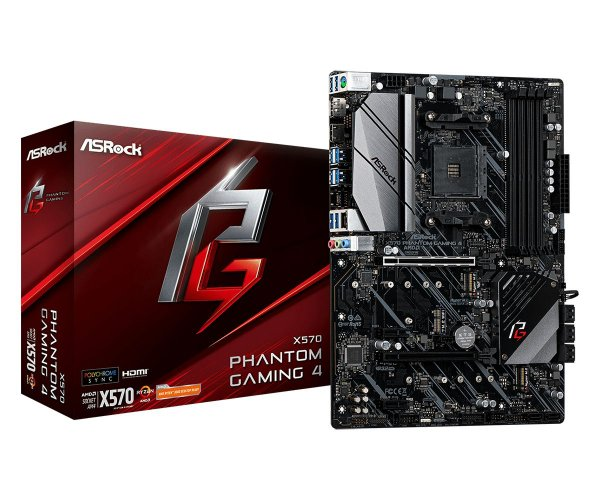 Placa Mãe ASrock CHIPSET AMD X570 PHANTOM GAMING 4 SOCKET AM4