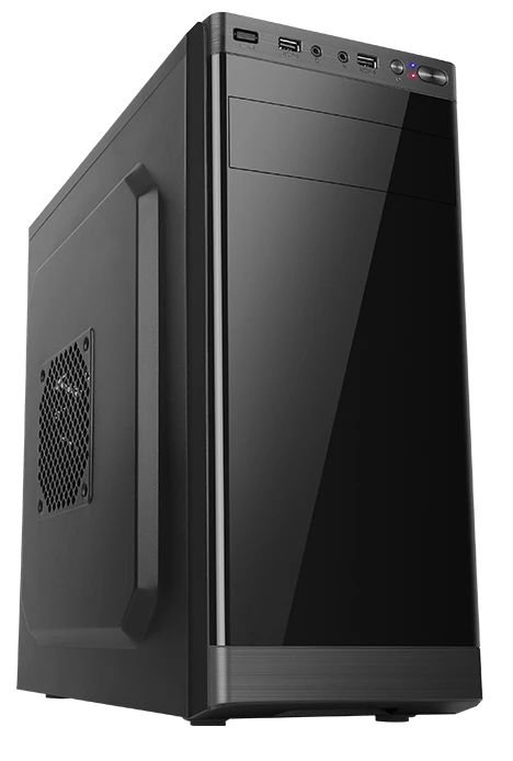 Gabinete Micro ATX 1 Baias Black C/ 2 USB FRONTAL LIKETEC OFFICE ELITE