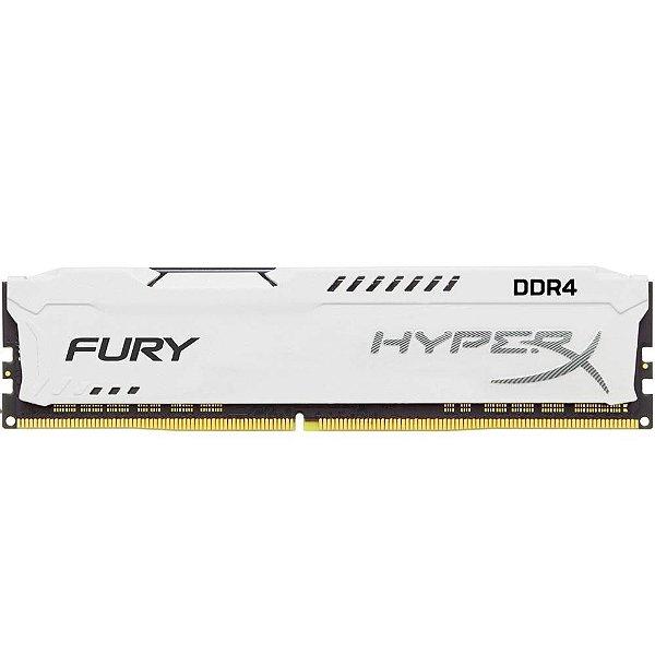 Memória P/ Desktop 16gb DDR4 - 2666 Mhz Kingston HyperX Fury White HX426C16FW/16 (1X16gb)