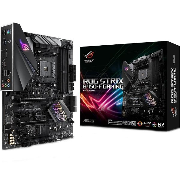 Placa Mãe ASUS ROG STRIX CHIPSET AMD B450-F GAMING SOCKET AM4