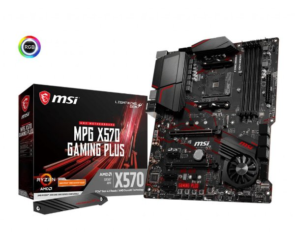 Placa Mãe MSI CHIPSET AMD X570 MPG GAMING PLUS SOCKET AM4
