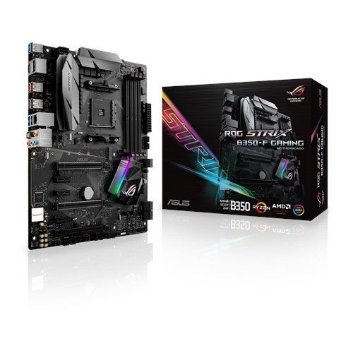 Placa Mãe ASUS ROG STRIX CHIPSET AMD B350-F GAMING SOCKET AM4