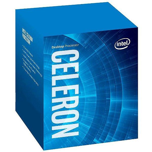 (OFERTA BLACK FRIDAY) Processador Intel Celeron Dual Core Skylake G3900 2.8 Ghz C/ 2MB, Cache Intel HD Graphics 510, Socket LGA 1151 - BX80662G3900