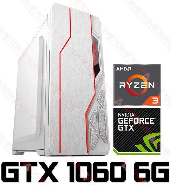 PC Gamer AMD Ryzen 3 3200G, 8GB DDR4, SSD 240GB, GPU GEFORCE GTX 1660 OC 6GB