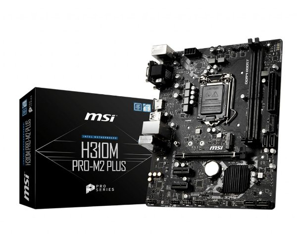 Placa Mãe MSI CHIPSET INTEL H310M PRO-M2 PLUS SOCKET LGA 1151