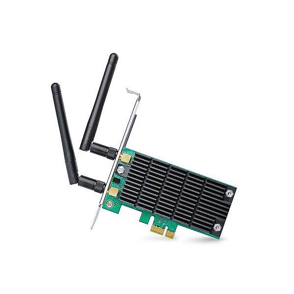 Placa de Rede Wireless 1300 Mbps Dual Band PCI Express TP-Link Archer T6E