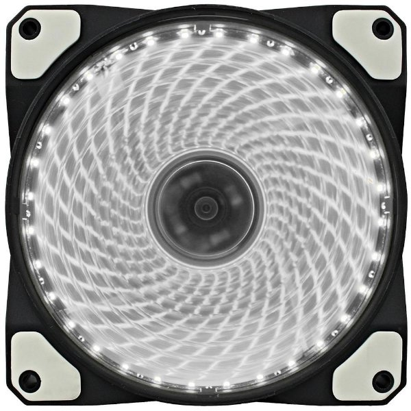 Cooler Fan Gamemax Galeforce 32 LED, 12cm, Branco - GF12W