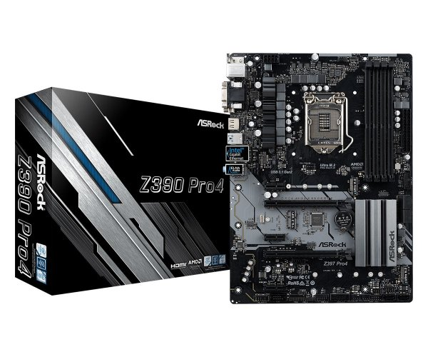 Placa Mãe ASROCK CHIPSET INTEL Z390 PRO4 SOCKET LGA 1151