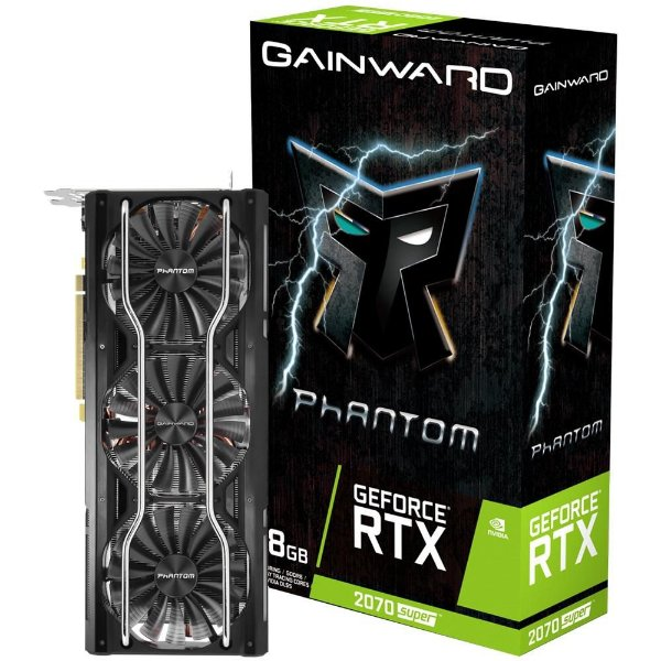 Placa de Vídeo GPU GEFORCE RTX 2070 SUPER PHANTOM 8GB GDDR6 - 256 BITS GAINWARD - NE6207S019P2-1040P