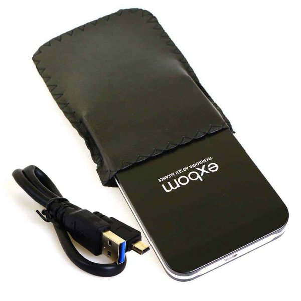 "Case para HD Externo 2,5"" USB 3.0 Preta EXBOM CGHD-30"