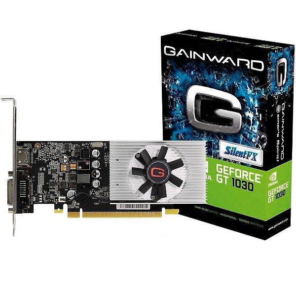 Placa de Vídeo Geforce GT 1030 2GB GDDR5 64 Bits GAINWARD - NE5103000646-1080F