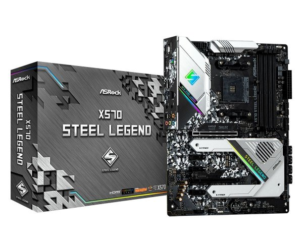 Placa Mãe ASrock CHIPSET AMD X570 STEEL LEGEND SOCKET AM4