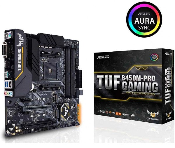 Placa Mãe ASUS TUF CHIPSET AMD B450M-PRO GAMING SOCKET AM4