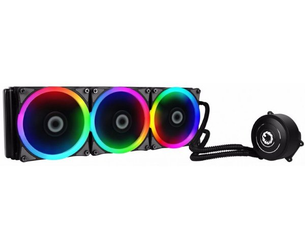 WaterCooler Gamemax Iceberg 360MM C/ 3 Fans 1200 Rpm RGB