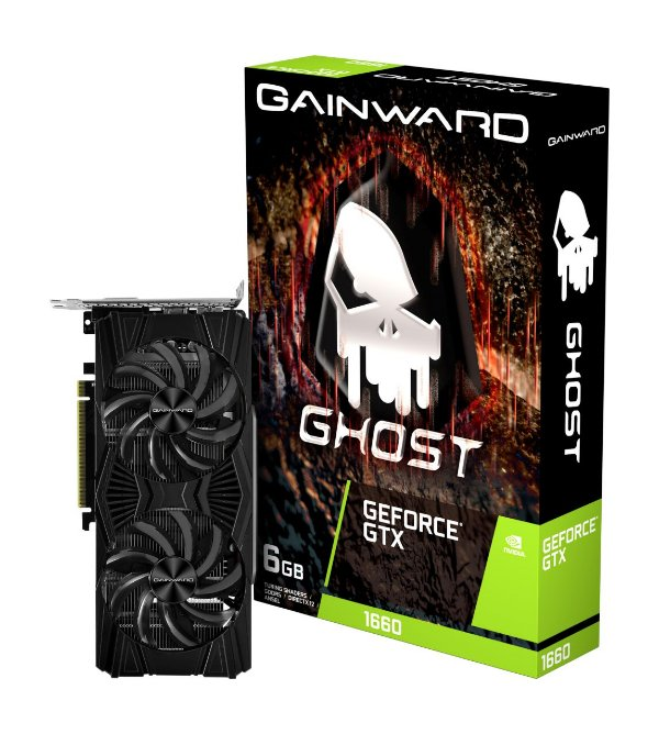 Placa de Vídeo GPU GEFORCE GTX 1660 GHOST 6GB GDDR5 192 Bits GAINWARD NE51660018J9-1161X